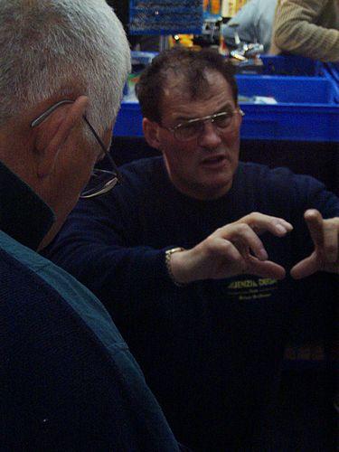 Der mehrmalige Weltmeister im Meeresfischen , Herr Großmann