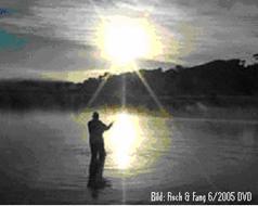 Einmündung in einen See in Argentinien - Top-Stelle